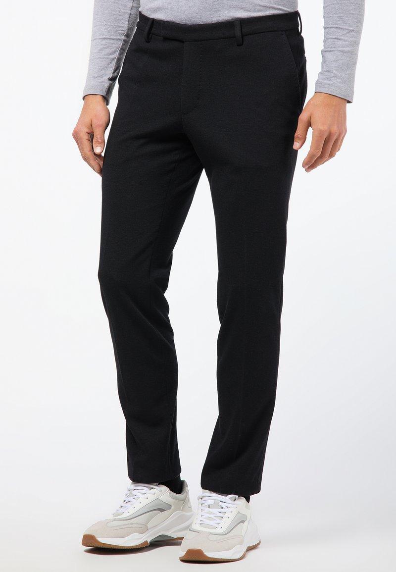 Pierre Cardin - BERTRAND - Suit trousers - black