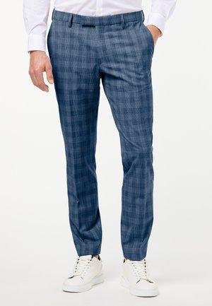 FUTUREFLEX RYAN - Suit trousers - blue