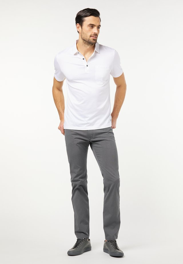 VOYAGE LYON - Pantalon classique - grau