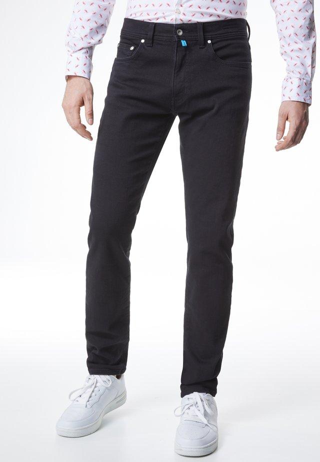 FLEX - Straight leg jeans - schwarz