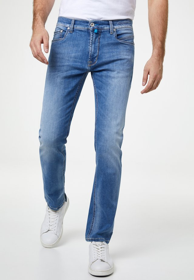 FUTUREFLEX LYON - Relaxed fit jeans - blue used