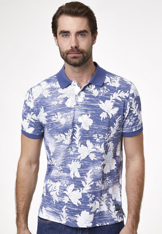 Polo shirt - indigo blue