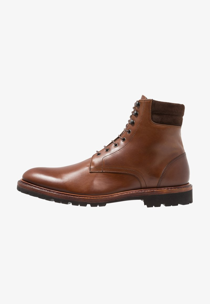 Prime Shoes - Lace-up ankle boots - buttero brown