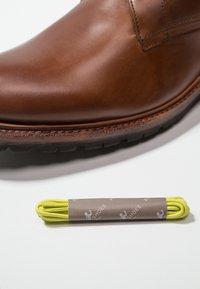 Prime Shoes - Schnürstiefelette - buttero brown - 5