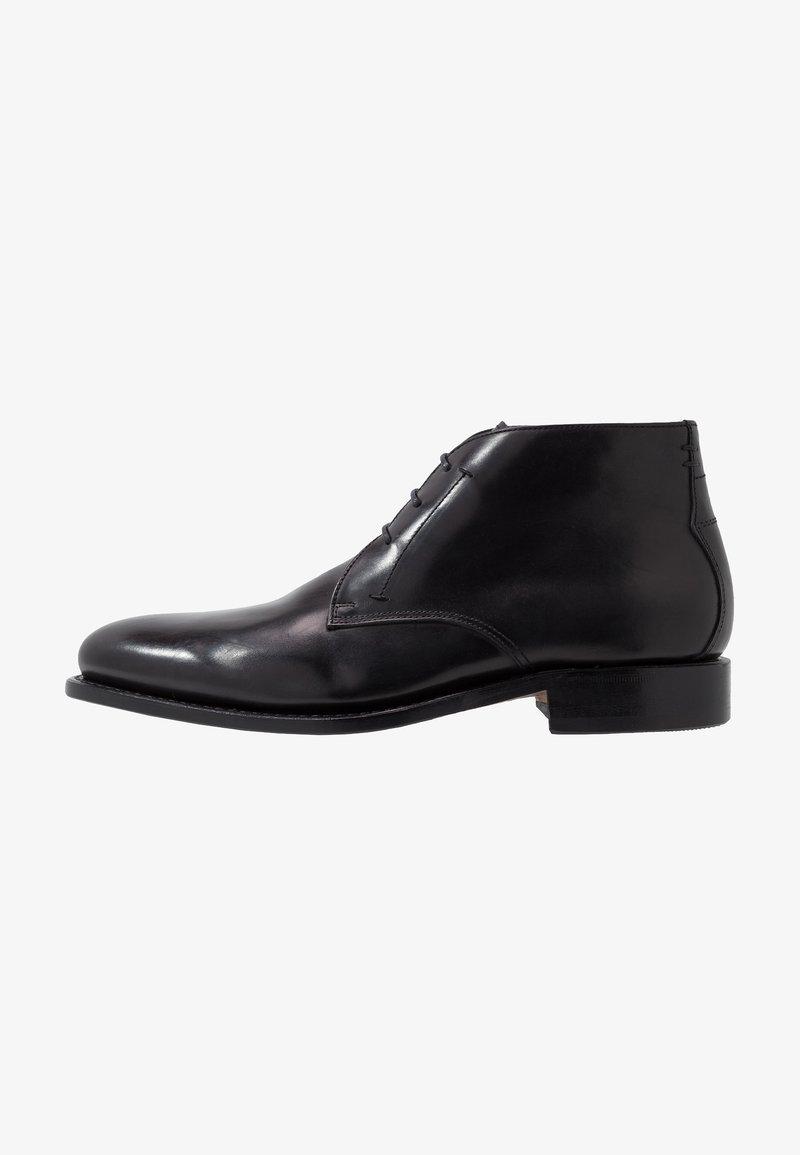 Prime Shoes - Smart lace-ups - bourbon black