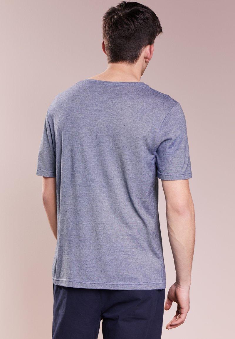 shirt Indigo T Pierre Balmain Imprimé AL54Rj