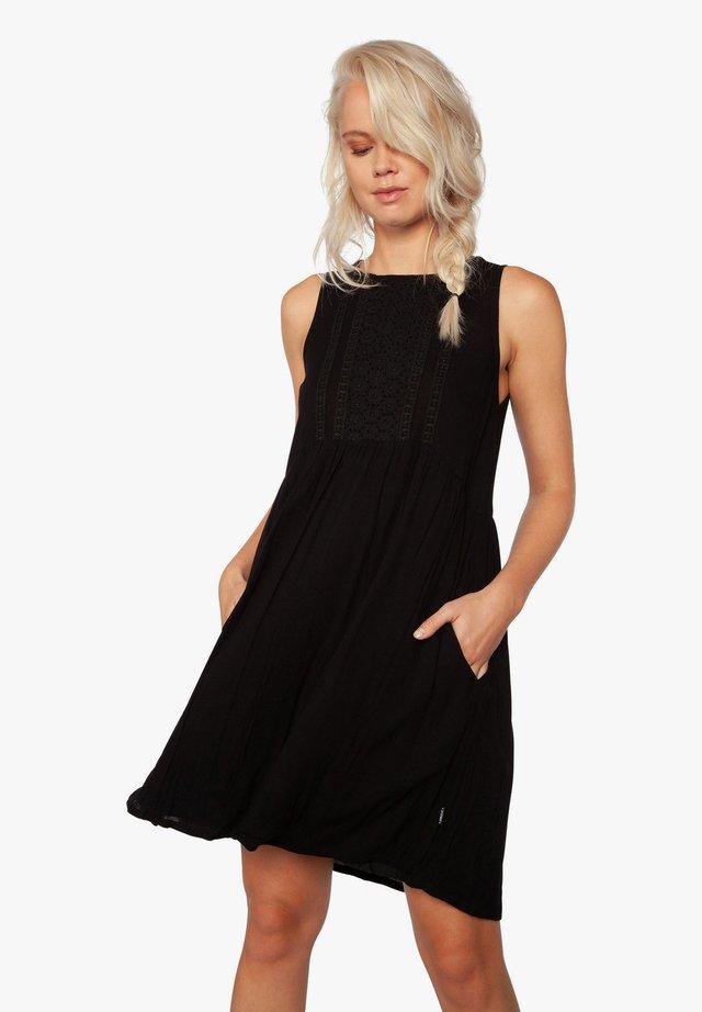 CHARITY - Korte jurk - true black