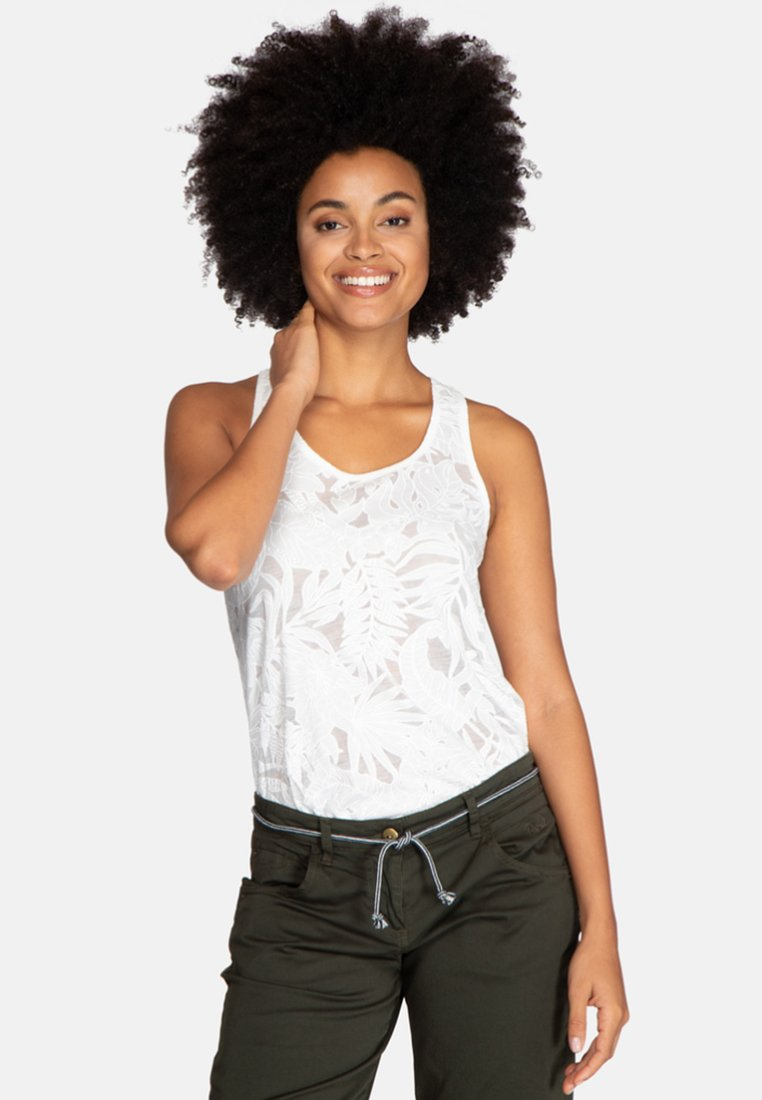 Protest - NEVIN SINGLET - Top - off-white