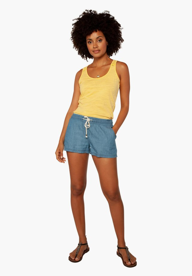 Denim shorts - sky denim