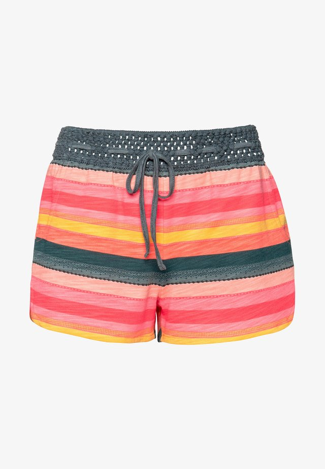 FLOWERY  - Shorts - grenadine