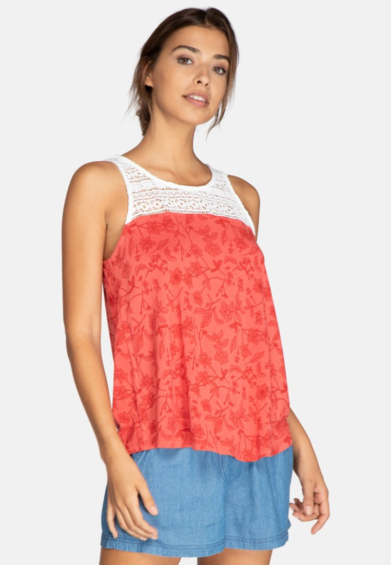 Protest - ORGANIC - Top - red