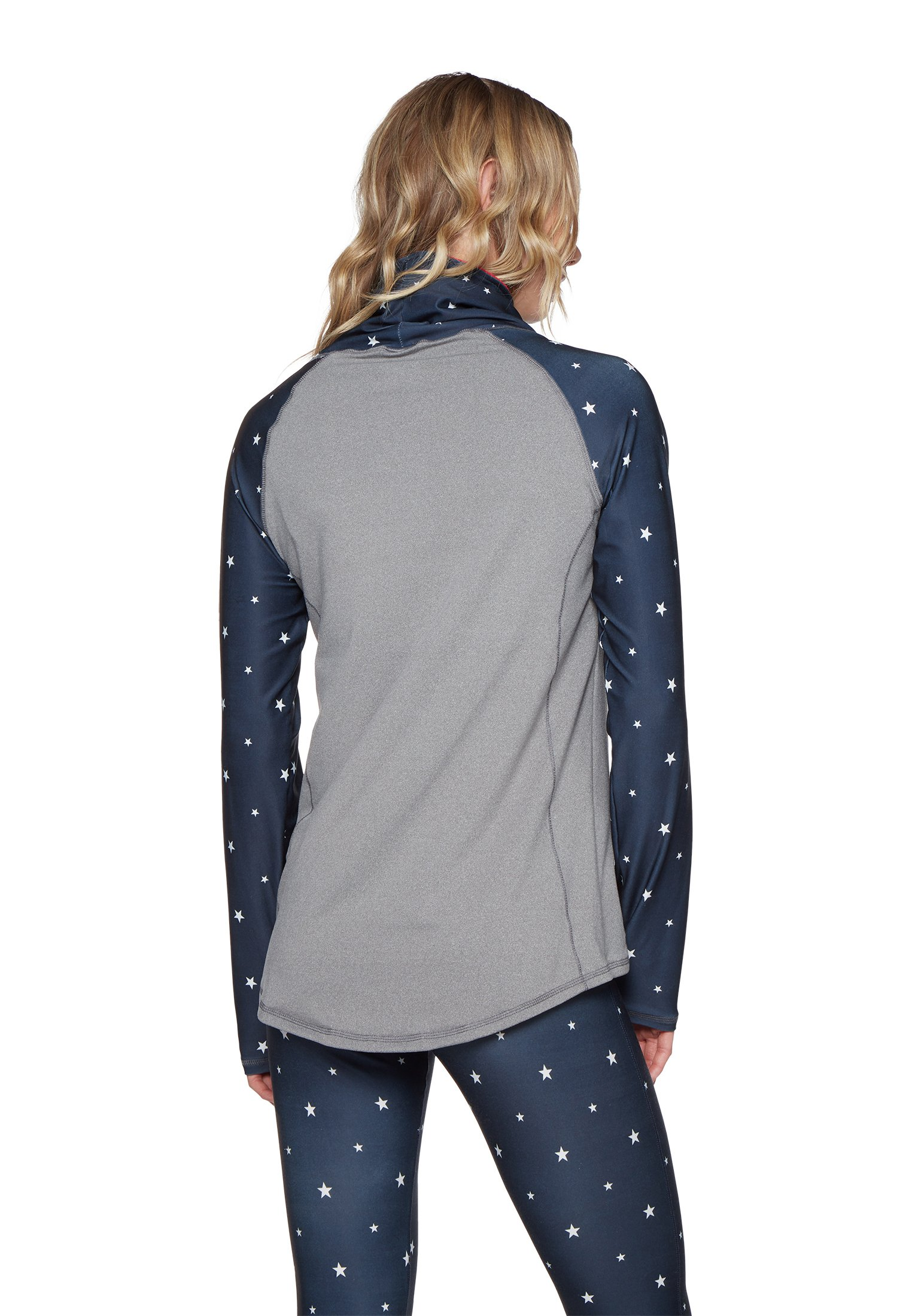 Protest THERMO TOP - Langarmshirt dark blue/red