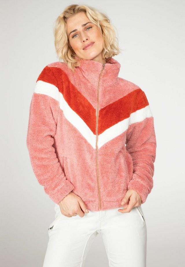 JUNIPER  - Fleece jacket - think pink