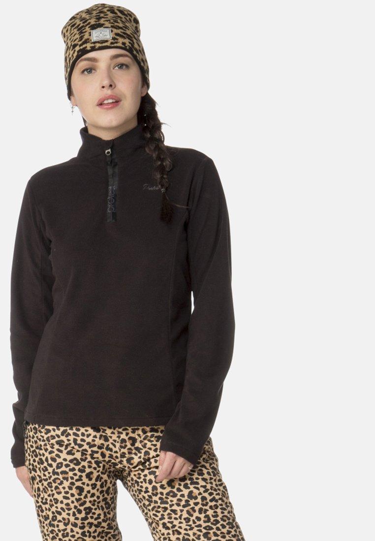 Protest - MUTEY - Fleece jumper - true black