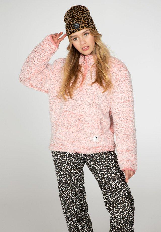 CAMILLE - Fleece jumper - think pink