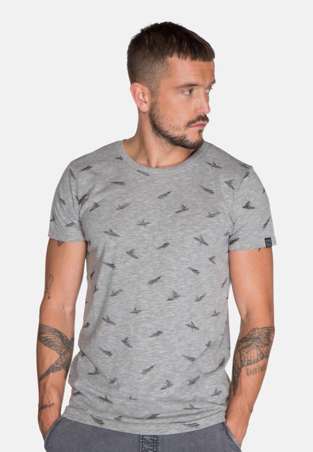 NIEL  - T-shirt print - dark grey