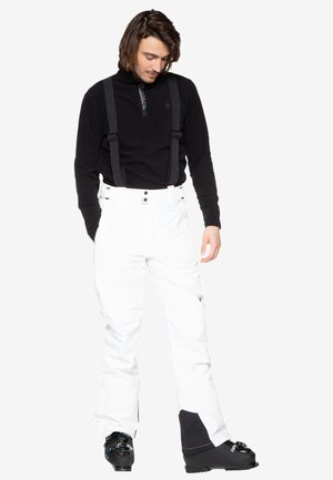 Skibroek - off-white/black