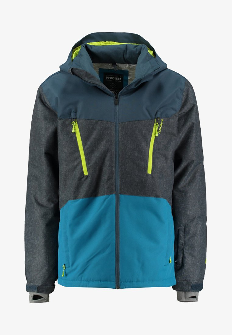 Protest - TAILGRAB 18 - Snowboard jacket - blue/grey