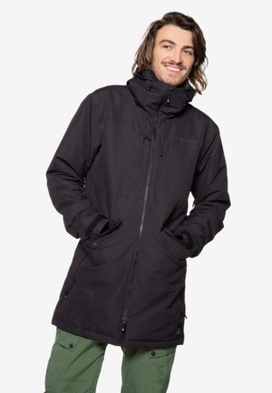 Winter coat - true black