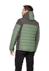 Protest - Snowboard jacket - mottled dark green - 2