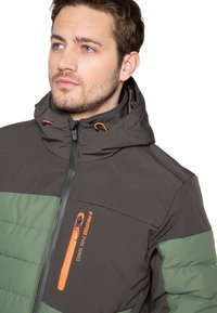 Protest - Snowboard jacket - mottled dark green - 3