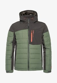 Protest - Snowboard jacket - mottled dark green - 4