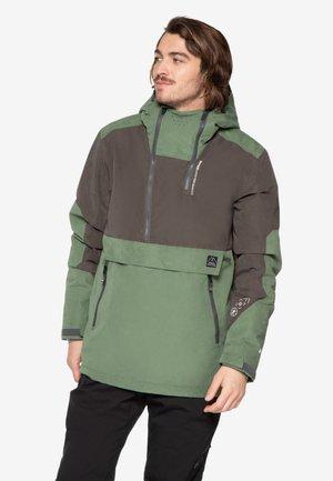 Snowboard jacket - dark green