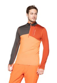 Protest - Fleece trui - orange/brown - 0