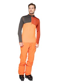 Protest - Fleece trui - orange/brown - 1