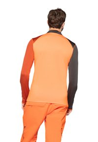 Protest - Fleece trui - orange/brown - 2