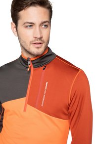 Protest - Fleece trui - orange/brown - 3