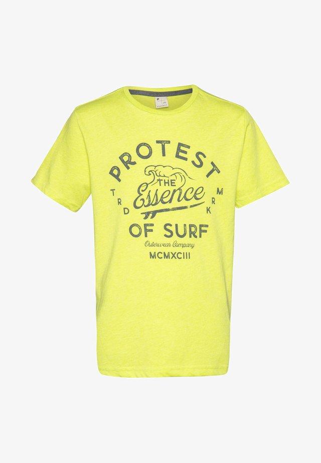 CHAZ  - T-shirt print - lime