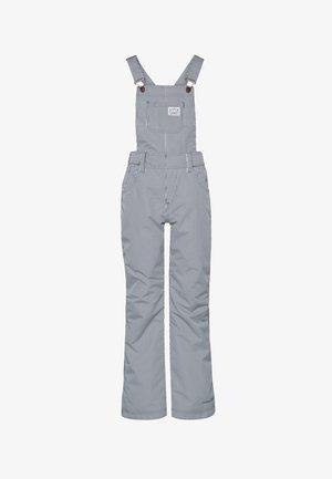 SALOPETTE - Snow pants - mottled dark blue