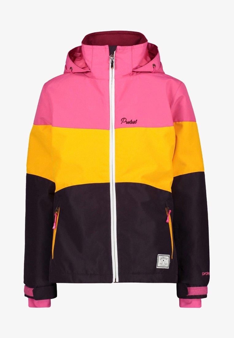 Protest - VIOLA - Ski jacket - purple/yellow/pink