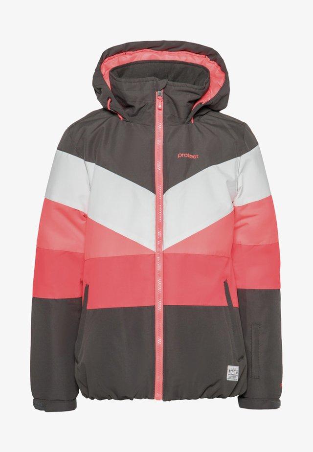Snowboardjas - white/pink/coral