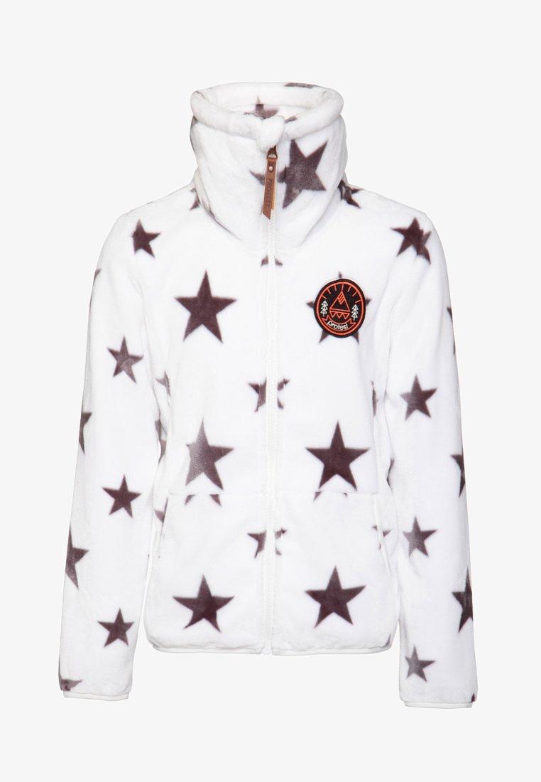 Protest - Fleece jacket - off-white/black