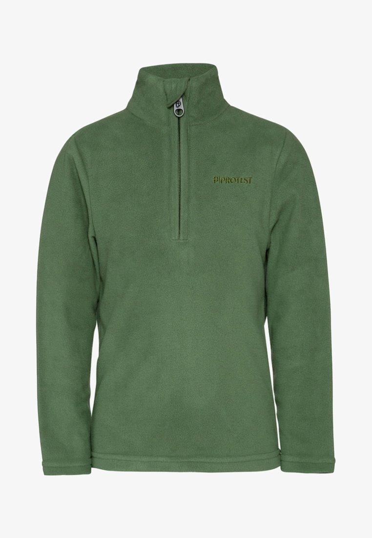 Protest - PERFECT 19 - Fleece jumper - mottled dark green