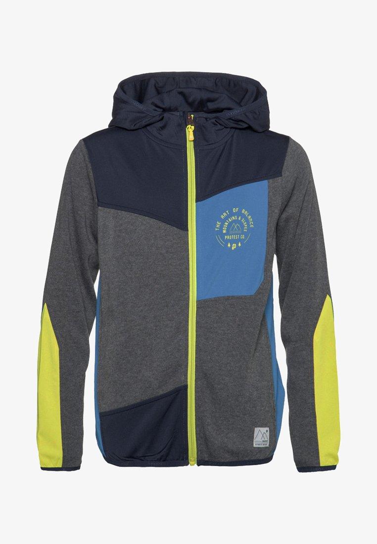 Protest - Zip-up hoodie - ground blue