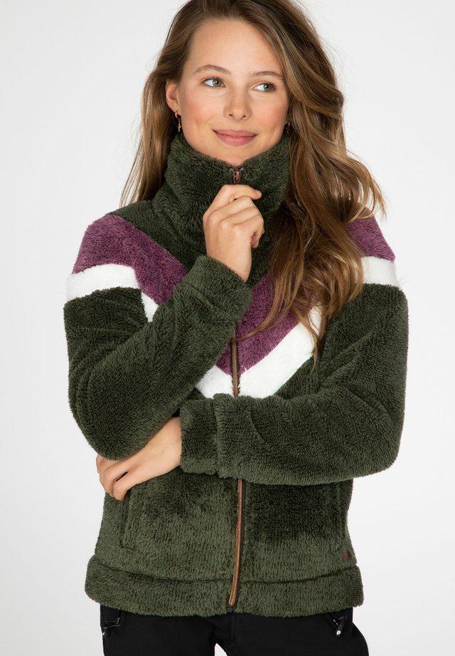 TESS - Fleece jacket - swamped