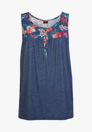 MISSING SINGLET - Blouse - mottled blue