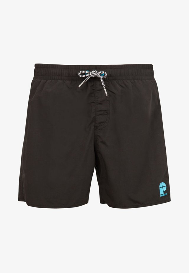 CULTURE JR - Swimming shorts - true black