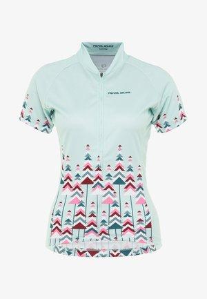 T-Shirt print - pine glacier/teal/beet/sugar coral