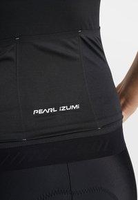 Pearl Izumi - ELITE PURSUIT SPEED - T-shirt z nadrukiem - black diffuse - 4
