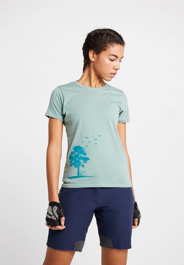 T-Shirt print - sage