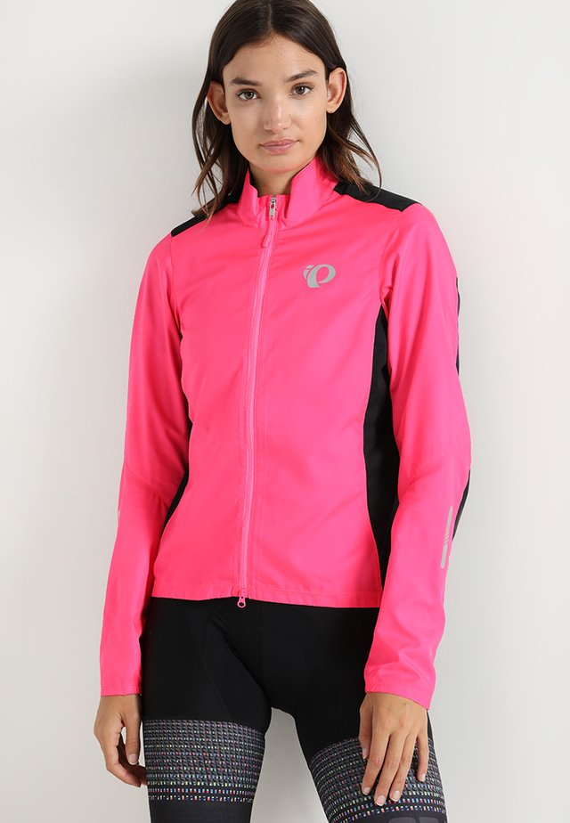 ELITE PURSUIT HYBRID - Veste coupe-vent - screaming pink/black