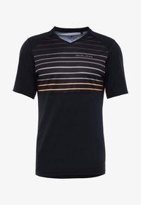 Pearl Izumi - LAUNCH - T-Shirt print - black/berm brown slope - 3