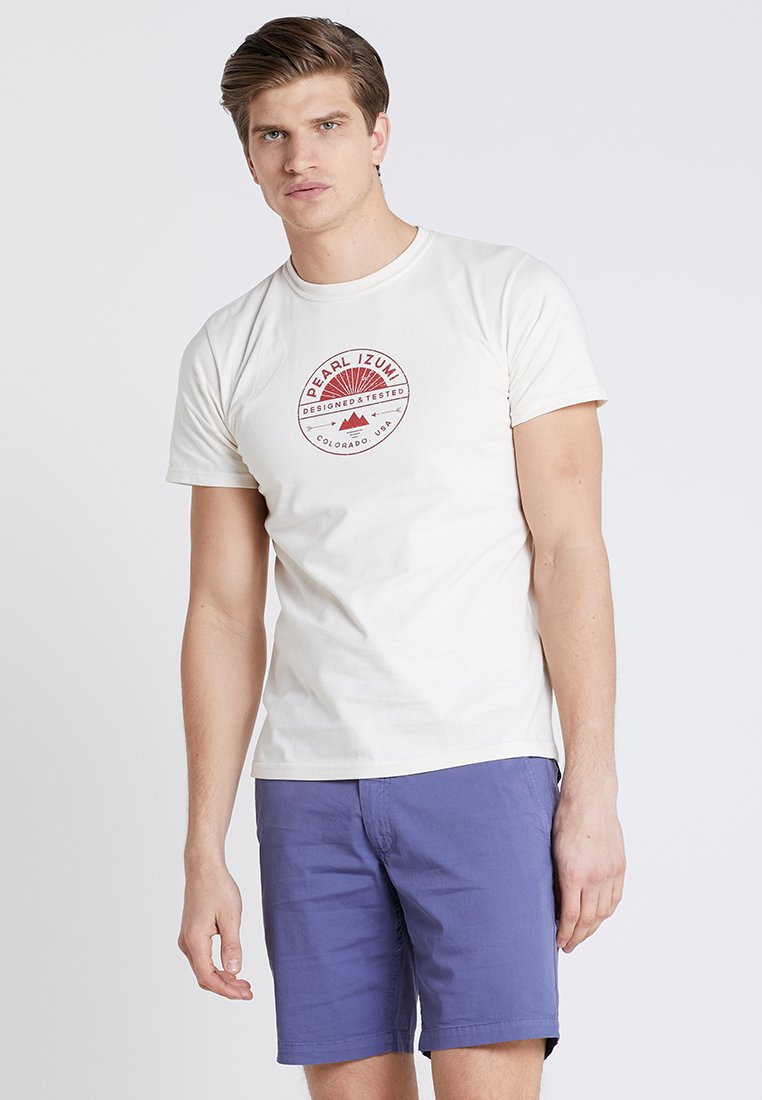 Pearl Izumi - T-shirt med print - stamp natural