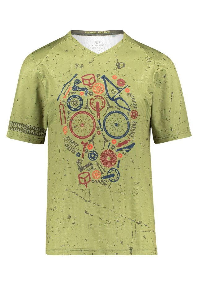 "PEARL IZUMI HERREN MOUNTAINBIKE-SHIRT ""MTB LTD LAUNCH JERSEY"" KU - Print T-shirt - green"