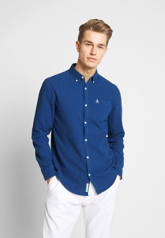DOBBY SHIRT - Camicia - deep water