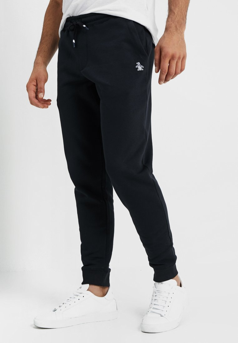 Original Penguin - Tracksuit bottoms - true black